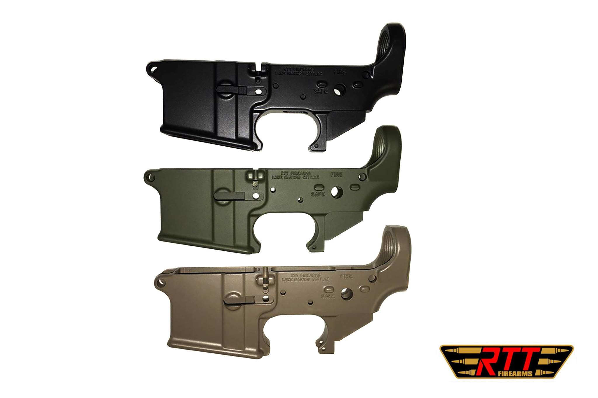 RTT Firearms Forged lower 3 Pack